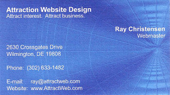 Attraction web designer in delaware