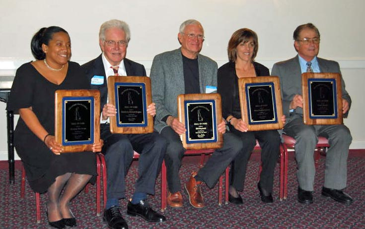 2007 Inductees at Banquet