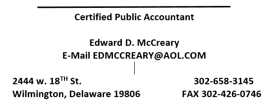 Edward McCreary, CPA